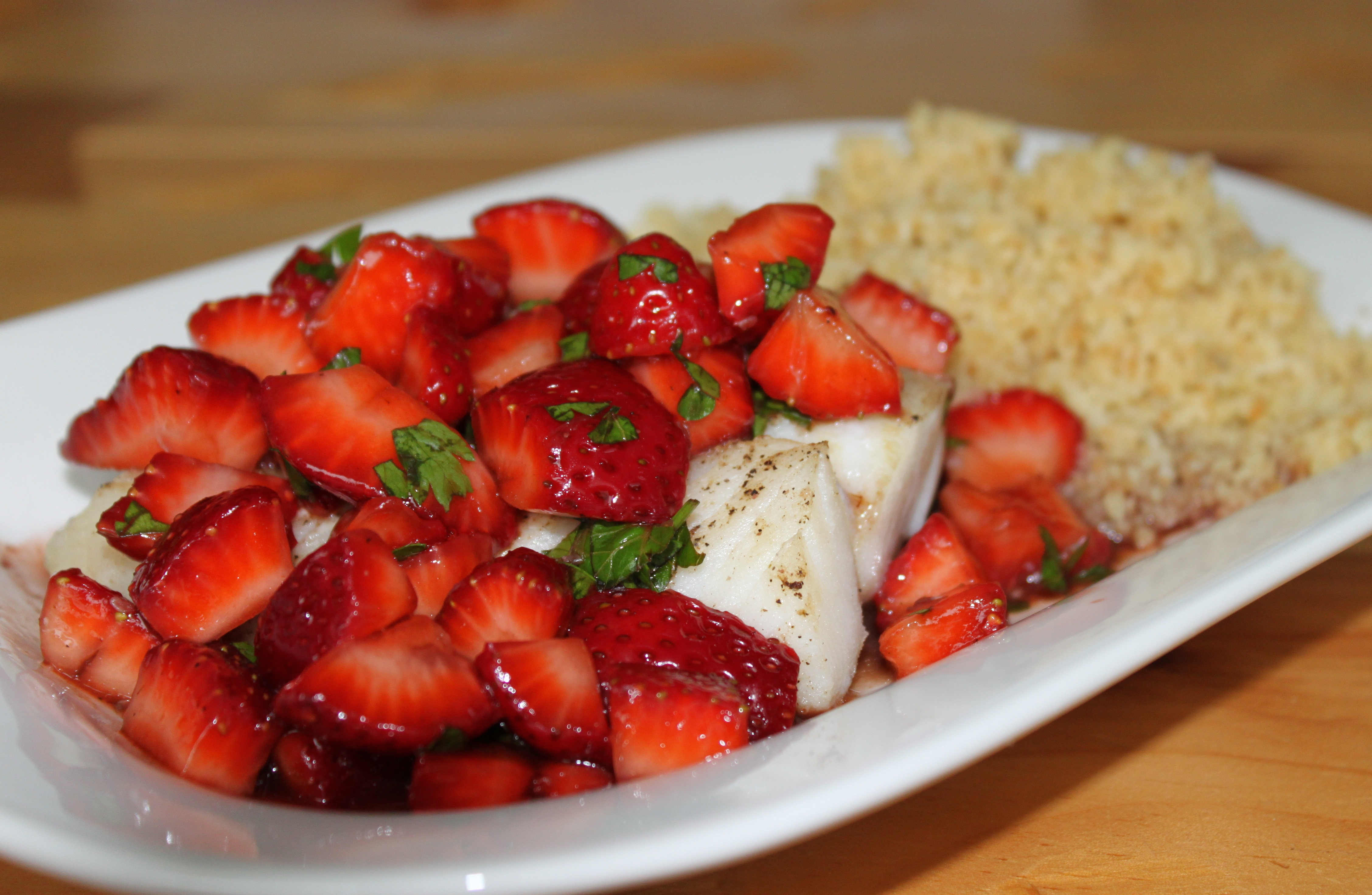 salsa pineapple tomato salsa poached tilapia i think it s safe to say ...