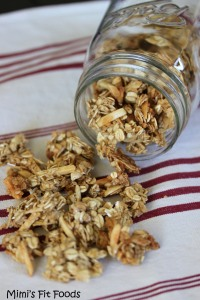 Oats, Almond, & Coconut Granola - Low Fat and Low Calorie