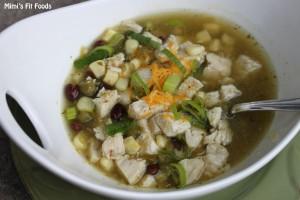 Slow Cooker Enchilada Soup - Salsa Verde