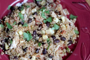 Mexican Chicken Quinoa-Mimi's Fit Foods