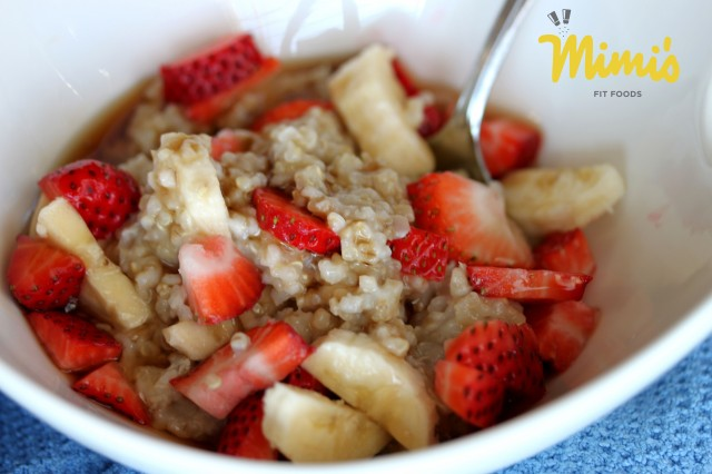 Quinoa and Oats Berry Breakfast Bowl - Mimi's Fit Foods