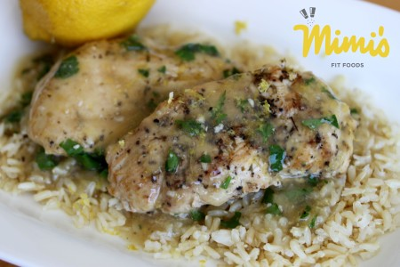 Slow Cooker Lemon Chicken-Mimi's Fit Foods