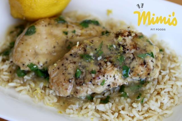 Slow Cooker Lemon Chicken-Mimi's Fit Foods