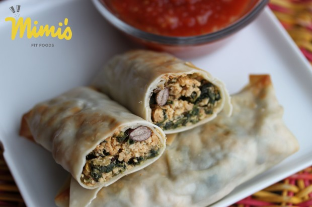 Baked Southwestern Egg Rolls - Mimi's Fit Foods2