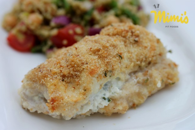 Cream Cheese Stuffed Chicken - Mimi's Fit Foods