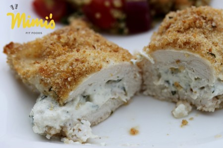Cream Cheese Stuffed Chicken2 - Mimi's Fit Foods