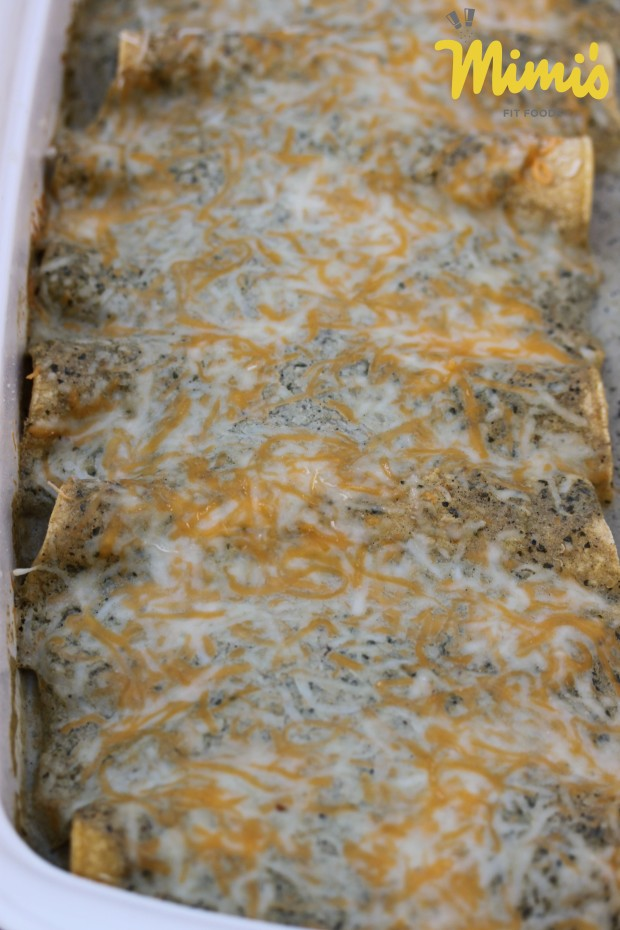 Green Chile Verde Enchiladas1 - Mimi's Fit Foods