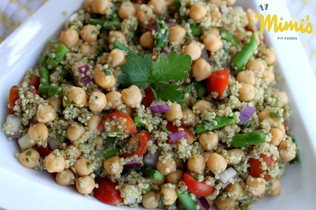 Hearty Spring Time Quinoa Salad - Mimi's Fit Foods