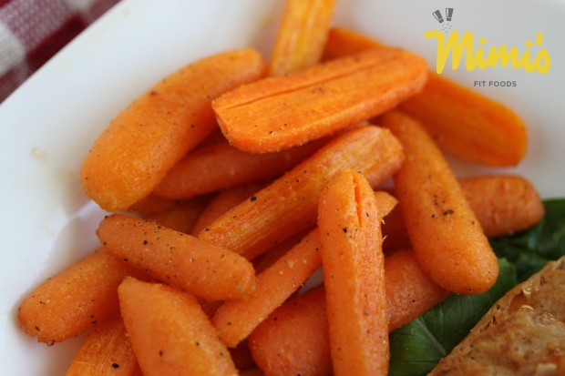 Roasted Carrots - Mimi's Fit Foods