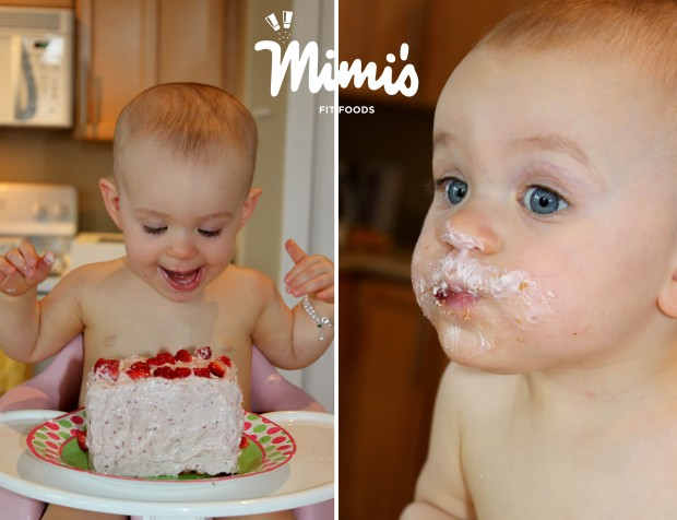 Baby's First Birthday Cake Eat-Mimi's Fit Foods