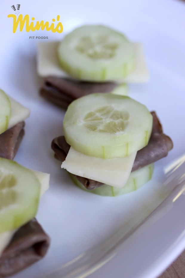 Cucumber Sandwiches - Mimi's Fit Foods