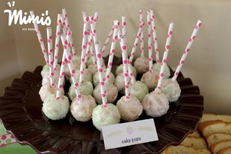 Lighter Cake Pops - Mimi's Fit Foods