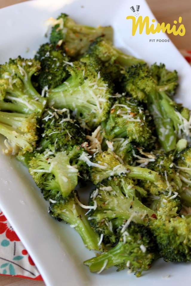 Roasted Pizza Broccoli - Mimi's Fit Foods