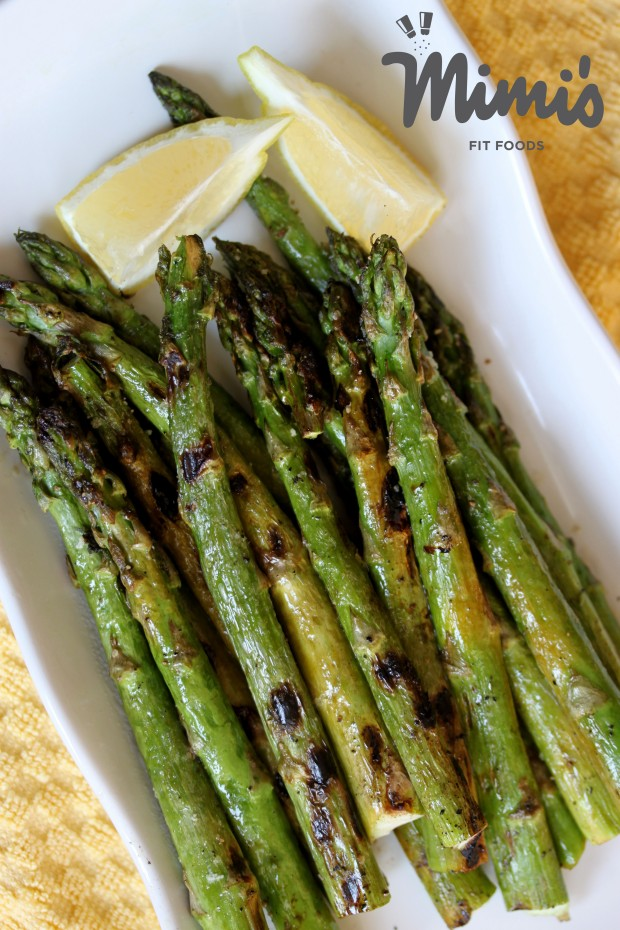 Grilled Asparagus - Mimi's Fit Foods
