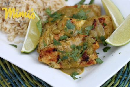 Grilled Lime Coconut Curry Chicken - Mimi's Fit Foods
