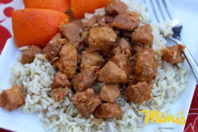 Slow Cooker Orange Chicken - Mimi's Fit Foods