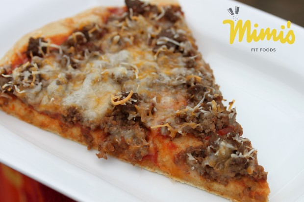 Easy and Simple Cheeseburger Pizza - Mimi's Fit Foods