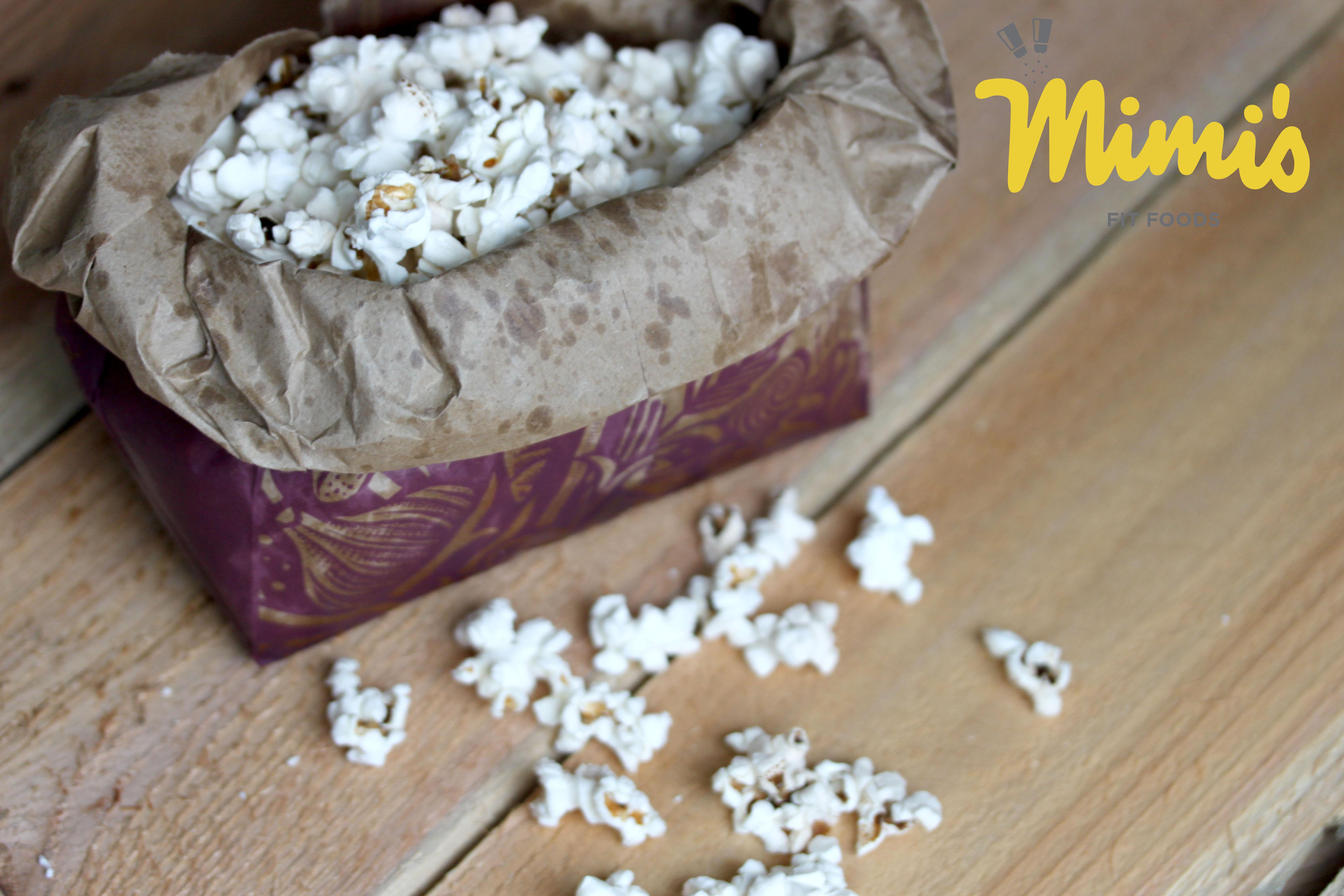 Diy Microwave Popcorn Mimis