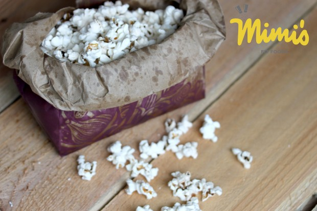 DIY Microwave Popcorn - Mimi's Fit Foods