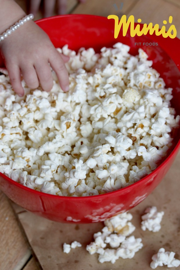 DIY Microwave Popcorn With Coconut Oil - Mimi's Fit Foods