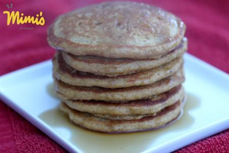 Whole Wheat Pumpkin Pancakes - Mimi's Fit Foods