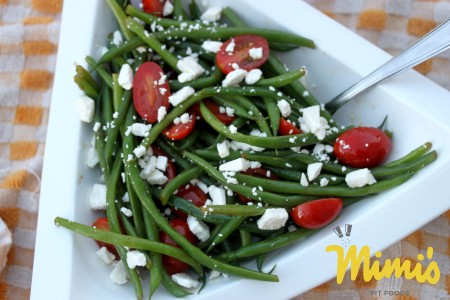 Fresh Green Bean Salad with Balsamic Dressing - Mimi's Fit Foods