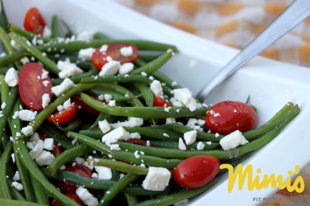 Fresh Green Bean Salad with Balsamic Dressing2 - Mimi's Fit Foods