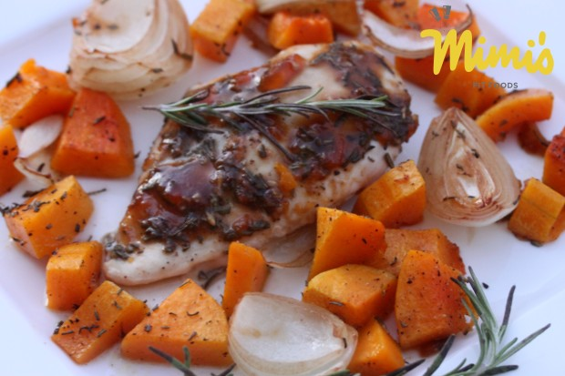 Herb Roasted Chicken with Butternut Squash2 - Mimi's Fit Foods