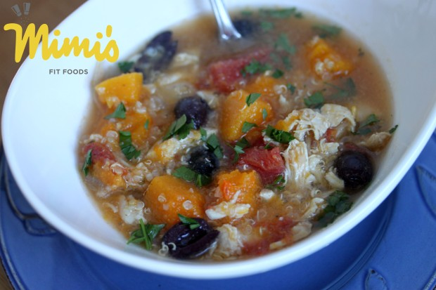 Chicken, Butternut Squash and Quinoa Stew - Mimi's Fit Foods