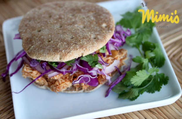 Slow Cooker Asian Chicken Sandwiches - Mimi's Fit Foods