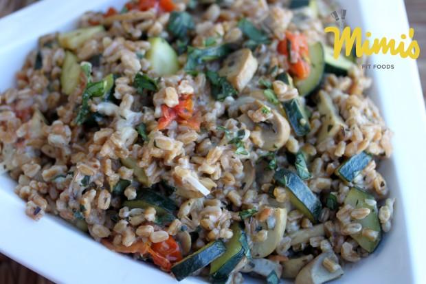 Italian Farro Salad - Mimi's Fit Foods