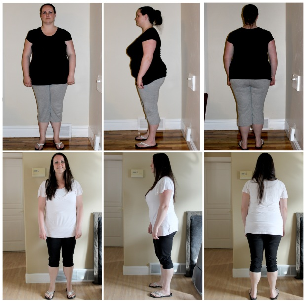 Katie Before-After Comparison - Mimi's Fit Foods