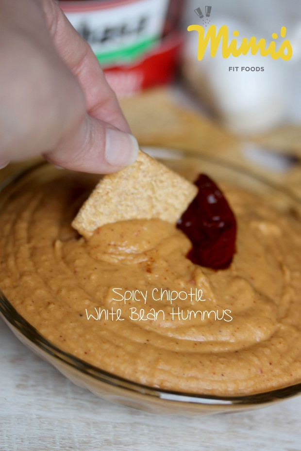 Spicy Chipotle White Bean Hummus - Mimi's Fit Foods
