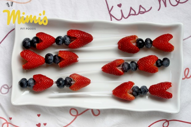 Berry Heart Skewers - Mimi's Fit Foods