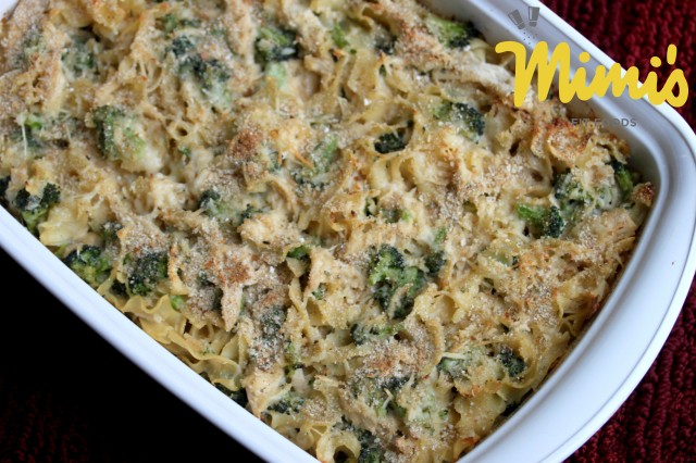 Fit Chicken, Broccoli & Noodle Casserole | Mimi's Fit Foods