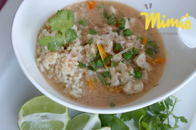 Slow Cooker Thai Soup | Mimi's Fit Foods
