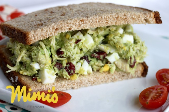 Chicken Salad With Avocado | Mimi's Fit Foods
