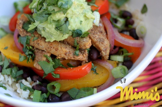 Fit Fajita Bowl | Mimi's Fit Foods