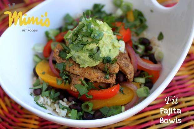 Fit Fajita Bowls | Mimi's Fit Foods