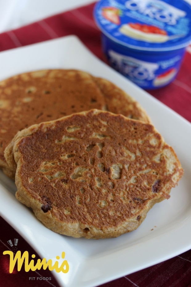 Greek Yogurt Protein Pancakes - Mimi's Fit Foods