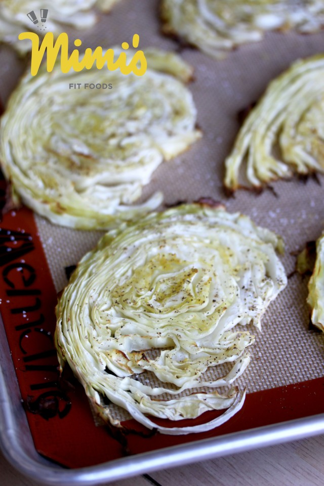 Roasted Cabbage Slices | Mimi's Fit Foods