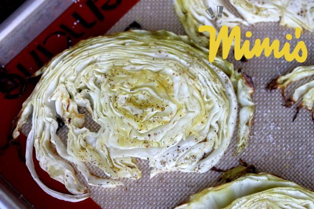 Roasted Cabbage Slices - Mimi's Fit Foods