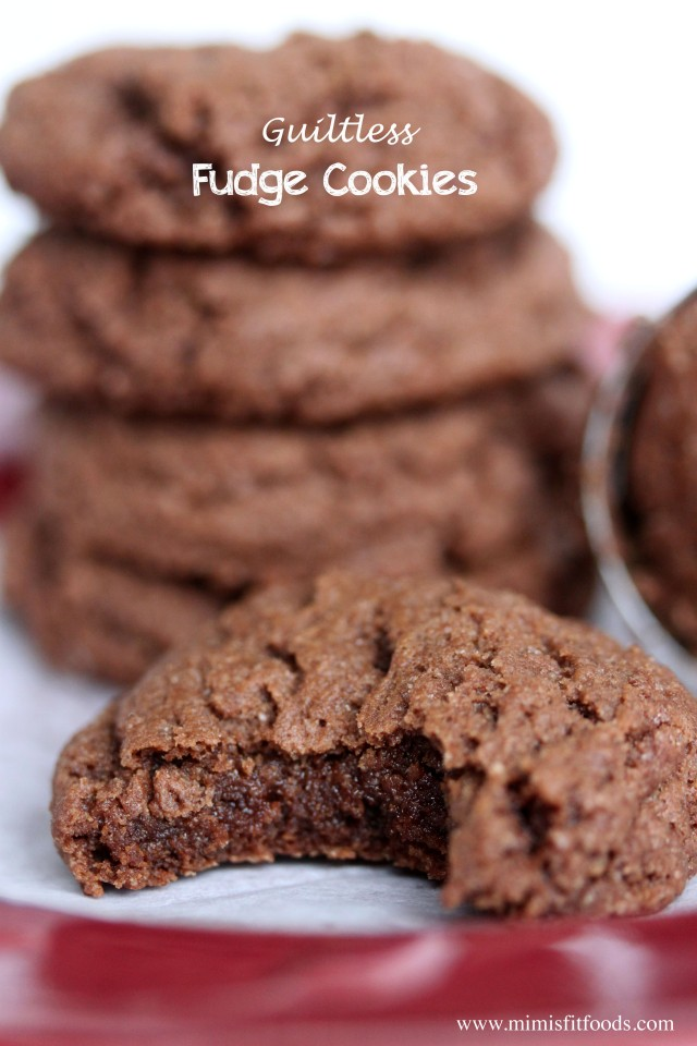 Guiltless Fudge Cookies|Mimi's Fit Foods