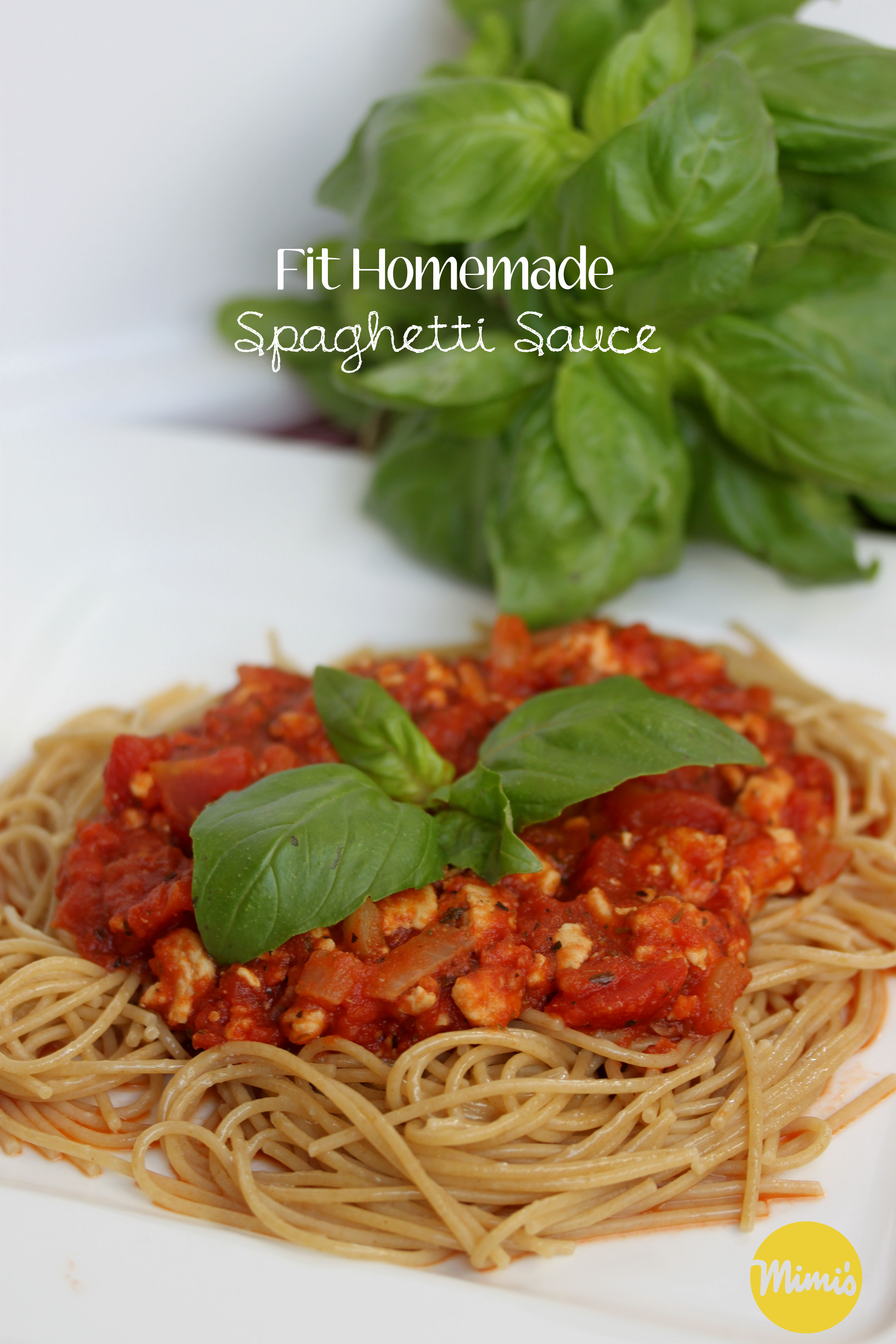 Fit Homemade Spaghetti Sauce | Mimi's Fit Foods