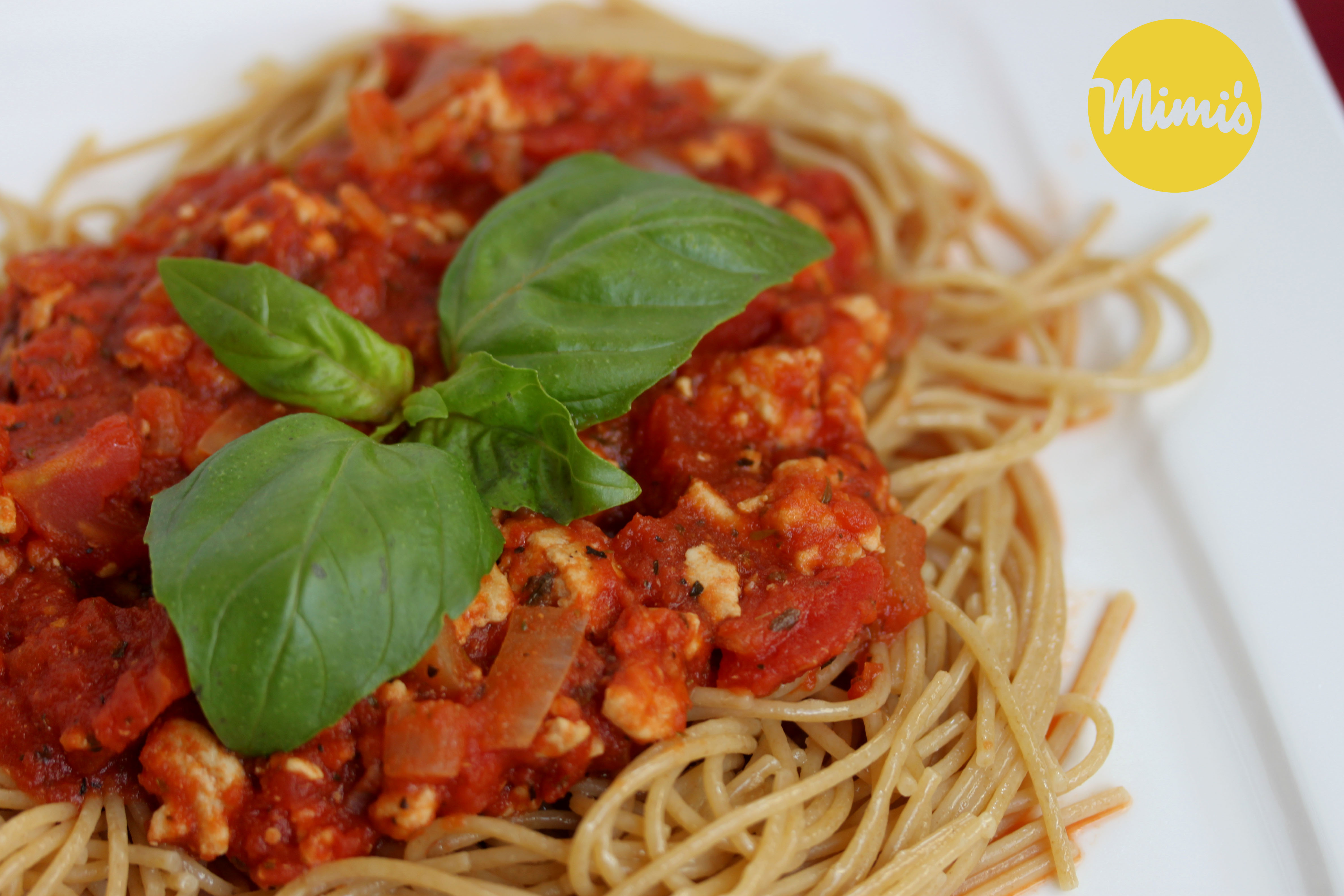 Fit Homemade Spaghetti Sauce - Mimi's Fit Foods