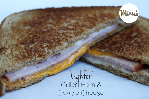 Lighter Grilled Ham and Double Cheese | Mimi's Fit Foods