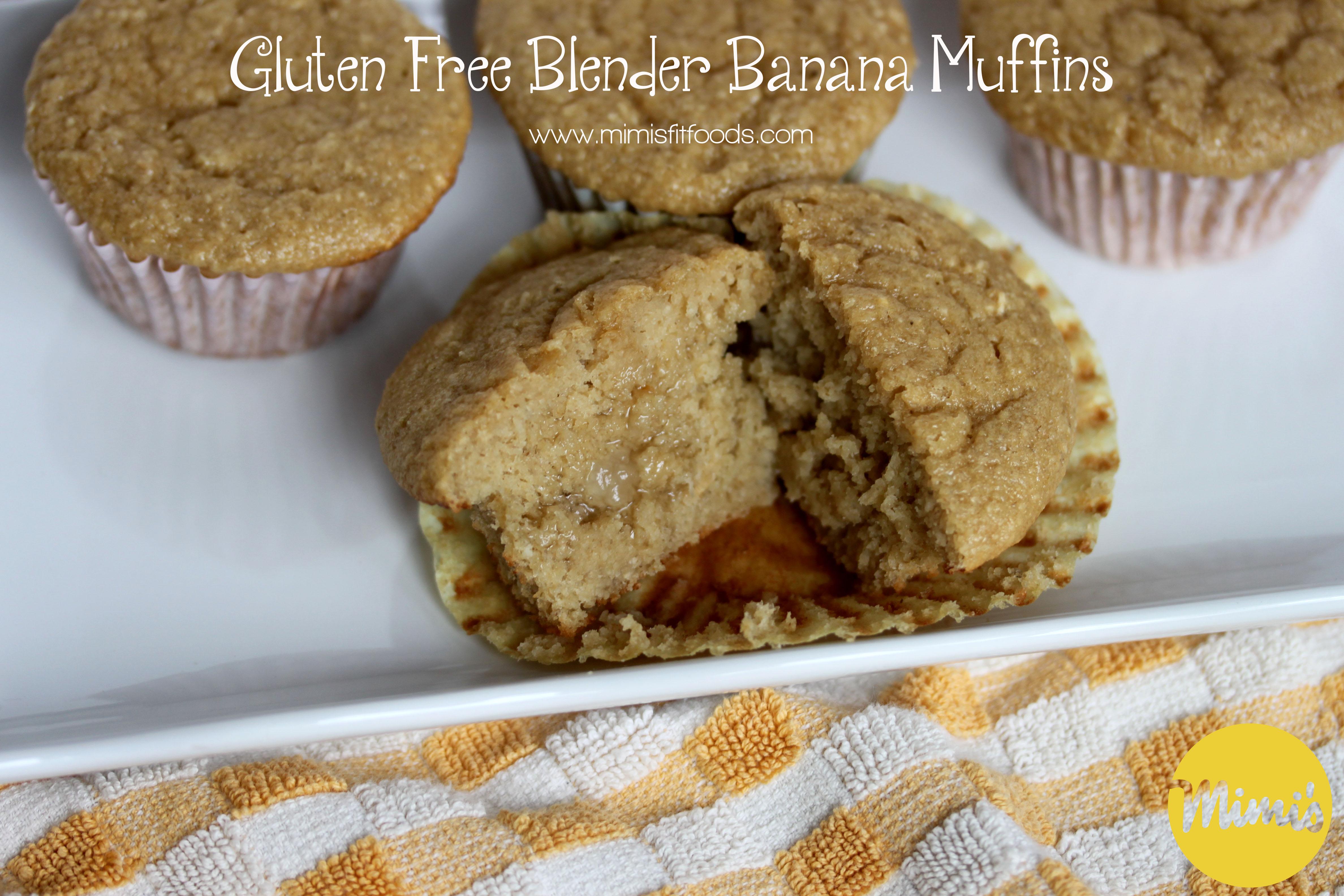 Gluten Free Blender Banana Muffins | Mimi's Fit Foods