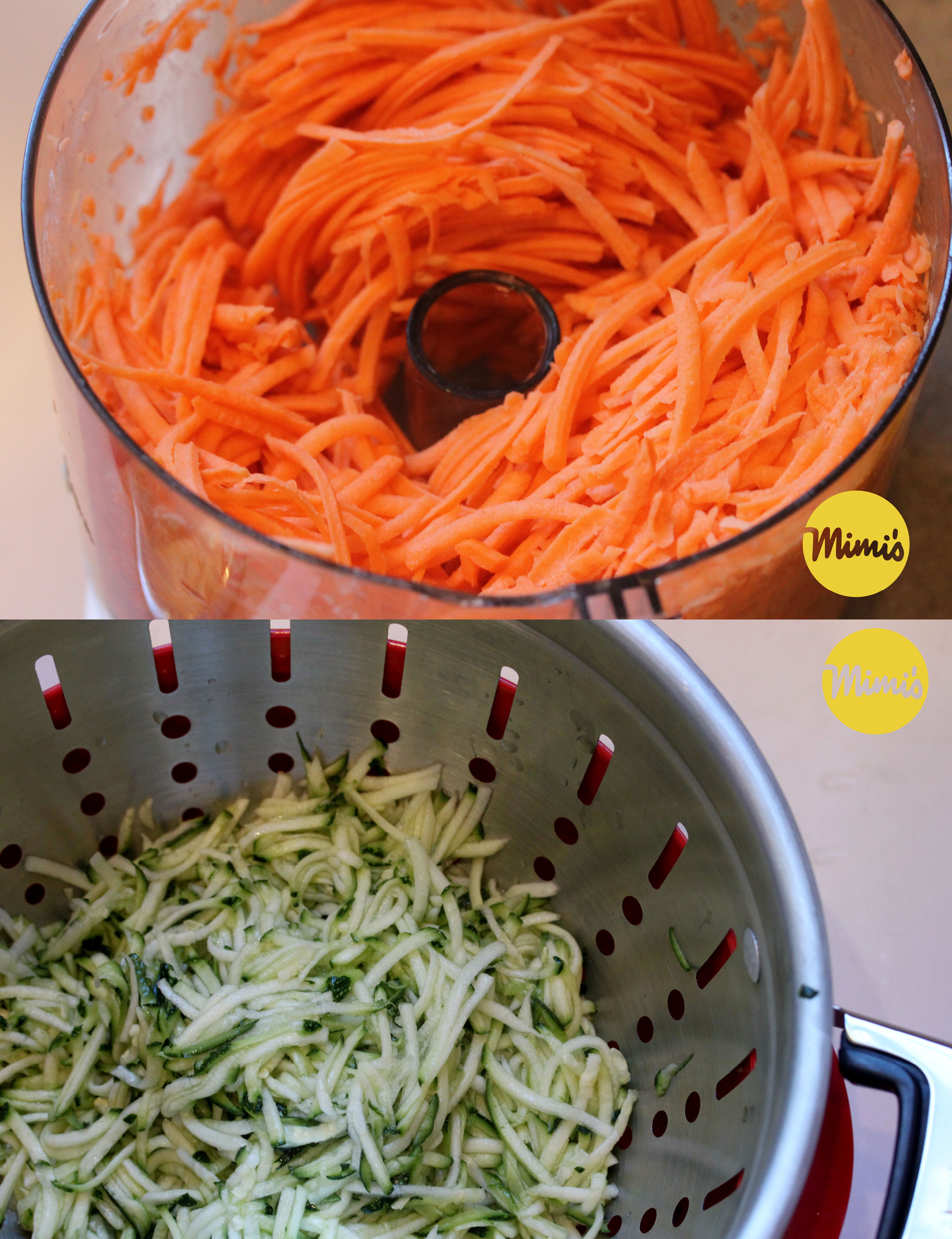Shredded Sweet Potatoes & Zucchini | Mimi's Fit Foods